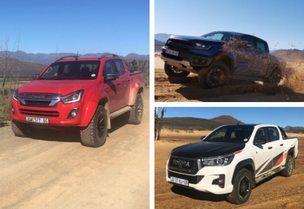 Throwback Review | Raptor, Arctic AT35, Hilux GR Sport: Three ultra-capable bakkies in SA